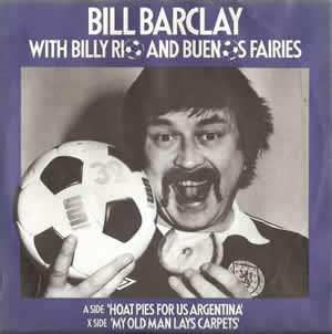 hot pies for us argentina single by bill barclay